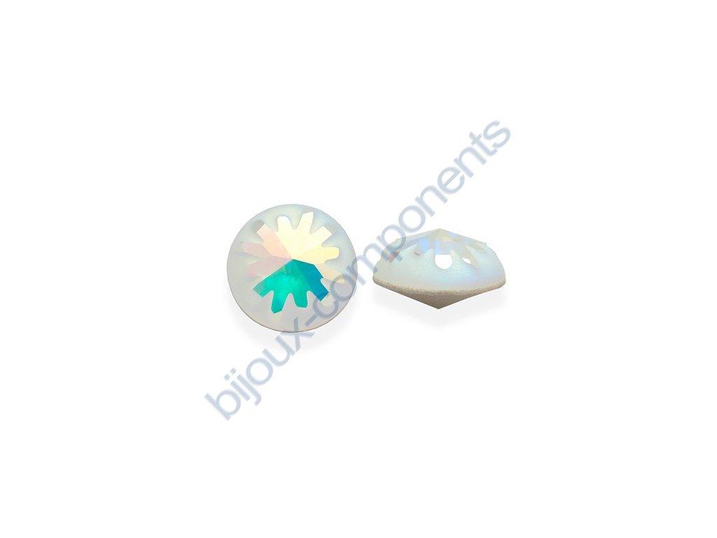 SWAROVSKI CRYSTALS kameny - Mořský ježek, crystal AB F, 10mm