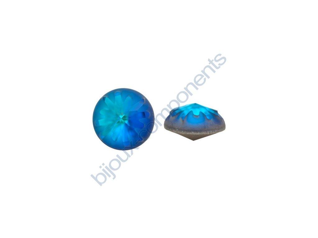 SWAROVSKI CRYSTALS kameny - Mořský ježek, crystal bermuda blue F, 10mm