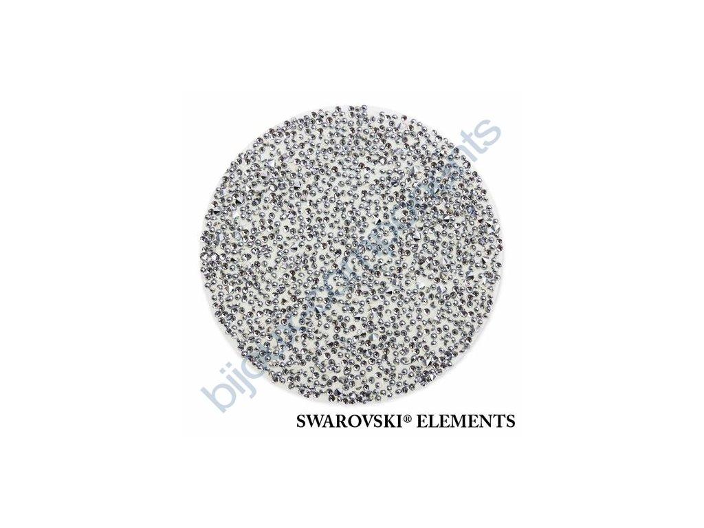 SWAROVSKI ELEMENTS - Crystal fabric, transparentní, crystal CAL, 15mm