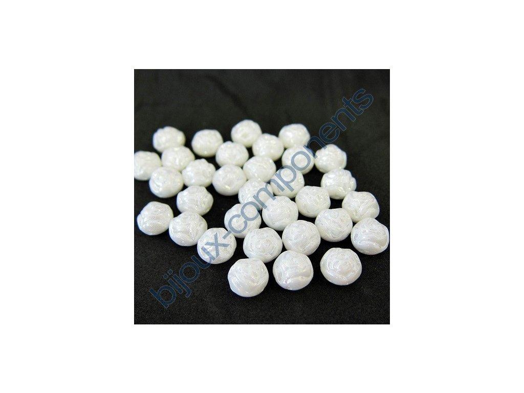 Dvoudírkové kabošony PRECIOSA Candy Rose™ - bílá