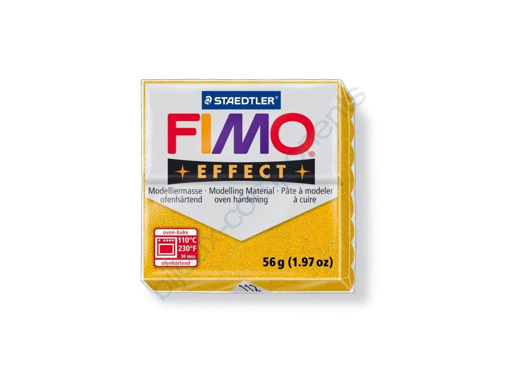Fimo Efect cca 56g, zlatá