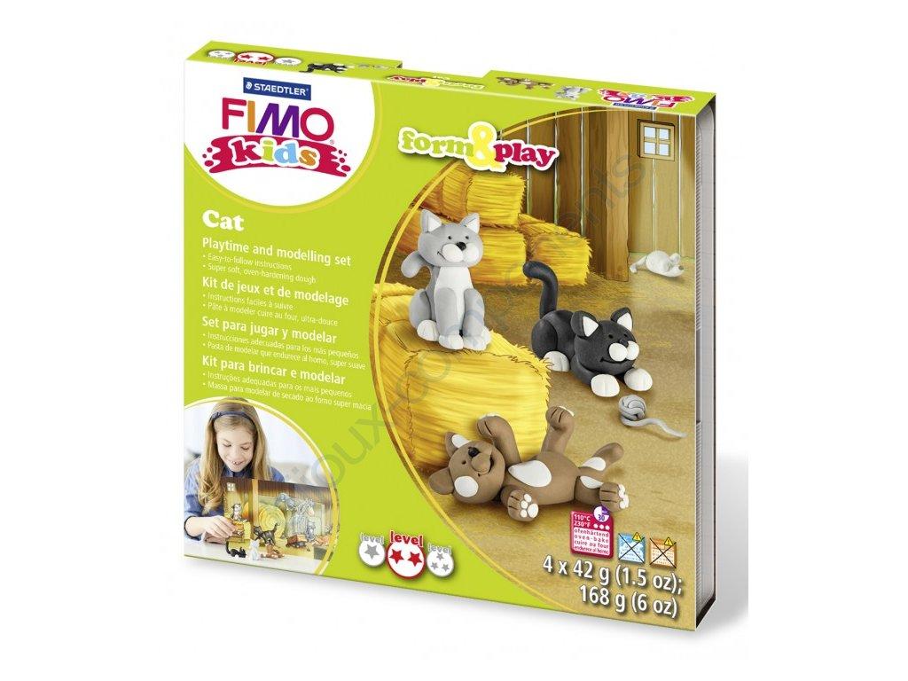 FIMO Kids, sada Kočky