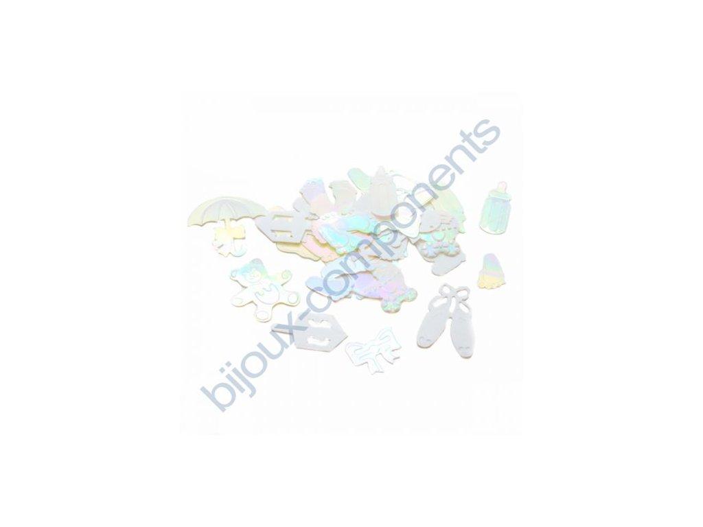 Flitry mix velikostí a tvarů