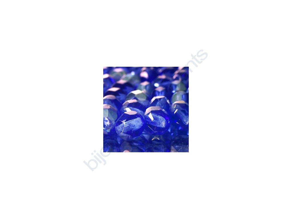 skleněné ohňové korálky, cca 6mm