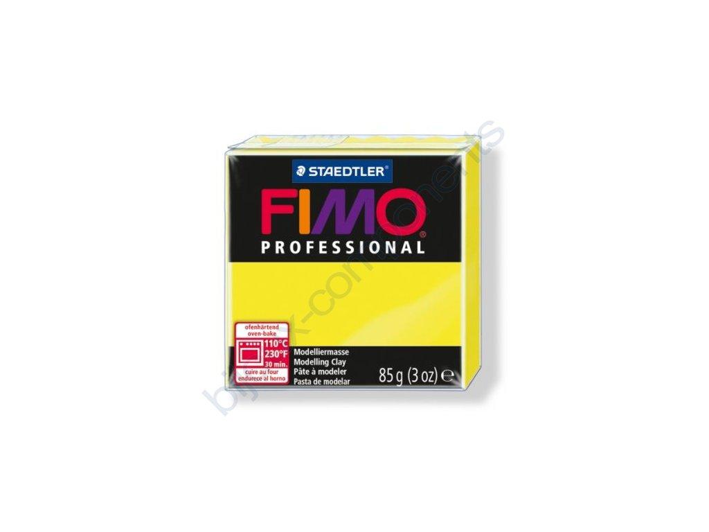 FIMO Professional, cca 85g, citronová