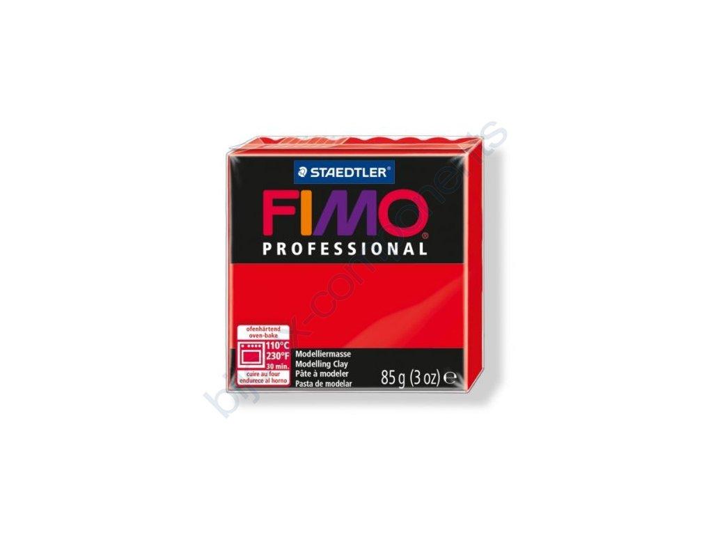 FIMO Professional, cca 85g, červená