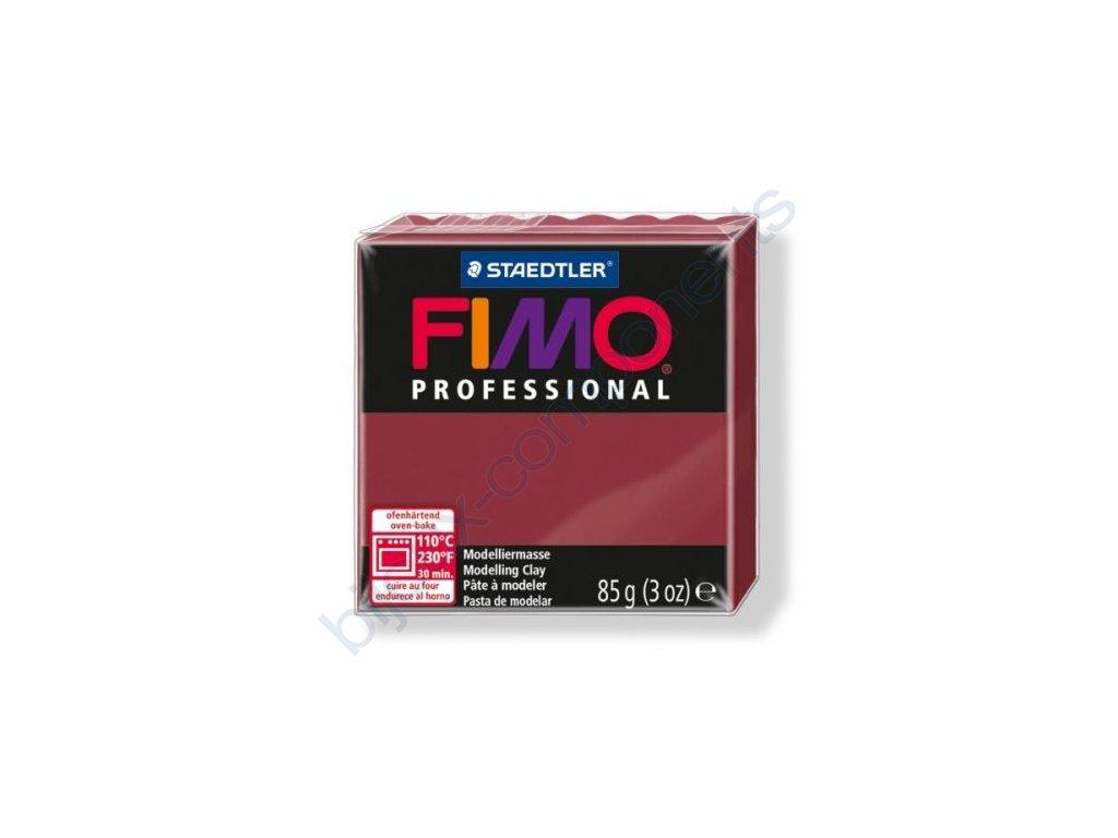 FIMO Professional, cca 85g, bordó