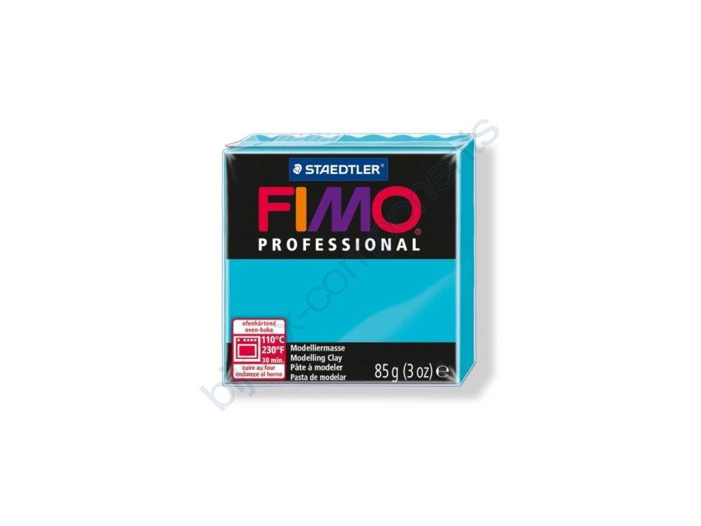 FIMO Professional, cca 85g, tyrkysová