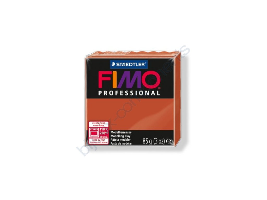 FIMO Professional, cca 85g, terakotová