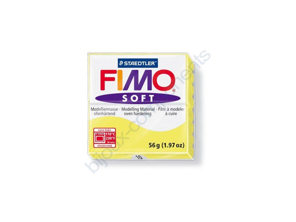 Fimo Soft cca 56g, žlutá