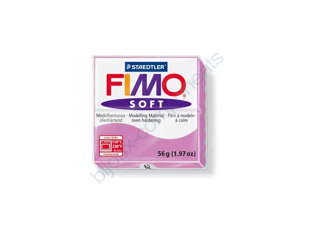 Fimo Soft cca 56g, světle fialová