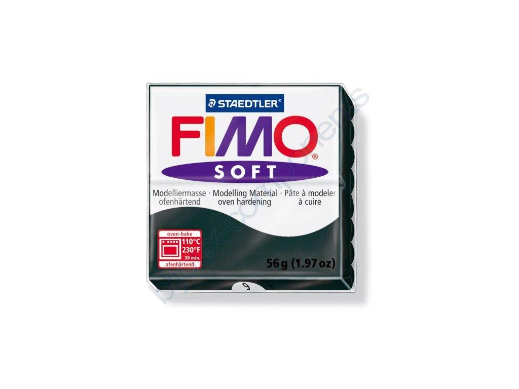 Fimo Soft cca 57g, černá