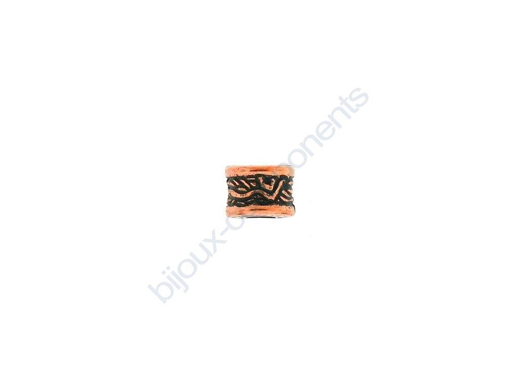 Akrylové korálky - cca 6x8 mm, dírka cca 3 mm