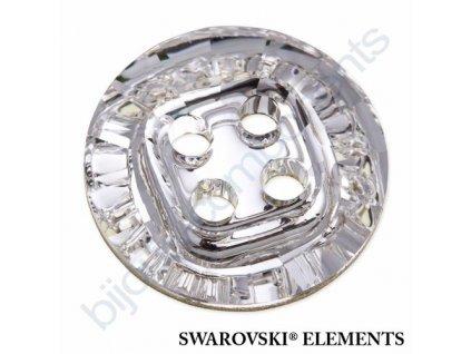 SWAROVSKI ELEMENTS Rivoli knoflíky, crystal, 14mm