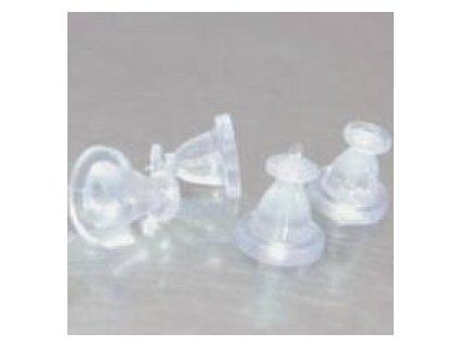 Plastové zakončení, cca 6x6mm