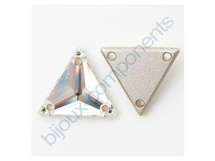 SWAROVSKI ELEMENTS trojúhelník, našívací kámen 16mm