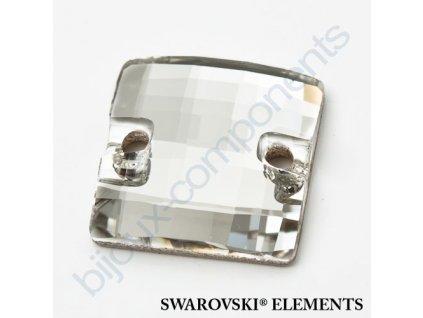SWAROVSKI ELEMENTS Chessboard našívací kámen, 12mm