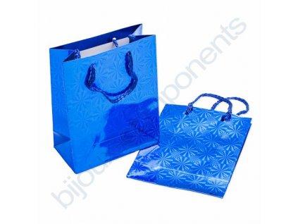 Dárková taška - modrá