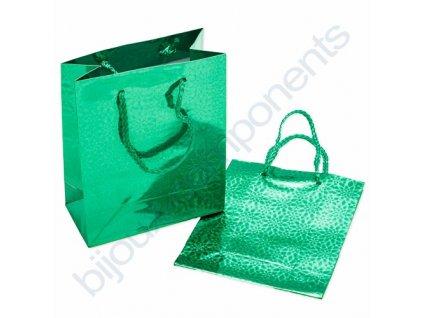 Dárková taška - zelená