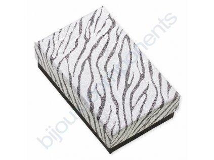Krabička na šperky, zebra