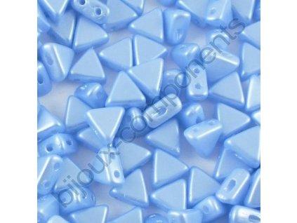 Kheops par Puca, Pastel Light Sapphire, 6x6x6mm, 12ks