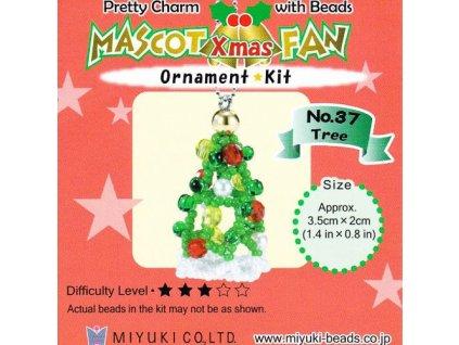 Miyuki stavebnice - Vánoční stromeček
