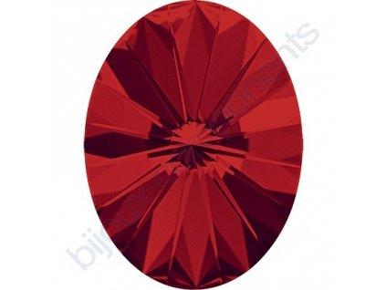 SWAROVSKI CRYSTALS kameny - Oval Rivoli Fancy Stone, light siam F, 14x10,5mm