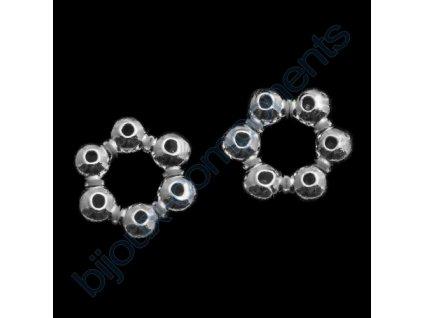 Korálek - dekorativní kroužek cca 5,5 x 1,9mm