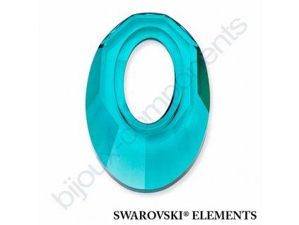 SWAROVSKI ELEMENTS Helios přívěsek, blue zircon, 20mm