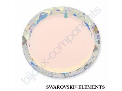 SWAROVSKI ELEMENTS přívěsek - disk, crystal AB, 20mm