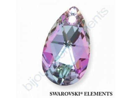 SWAROVSKI ELEMENTS přívěsek - hruška, crystal VL, 22mm