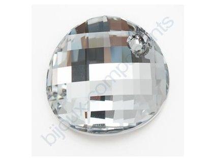 SWAROVSKI ELEMENTS Twist přívěsek Crystal CAL´V´SI, 18mm