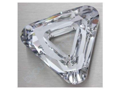 Swarovski tvarovka - trojúhelník, 20mm