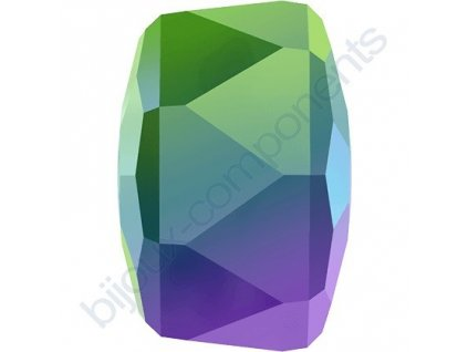 SWAROVSKI CRYSTALS přívěsek - RONDELLE, crystal scarabeus green, 8mm