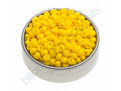 PRECIOSA rokajl - žlutý, 6/0 cca 4mm