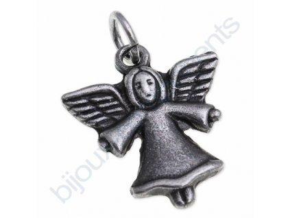 Přívěsek anděl cca 20x19mm