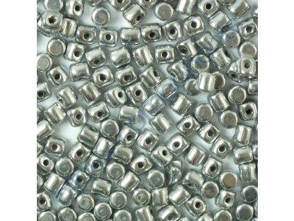 Minos par Puca, Argentees, 3x2,5mm, 36ks