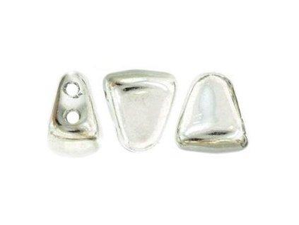 Matubo NIB-BIT, silver, 6x5 mm, 5 g