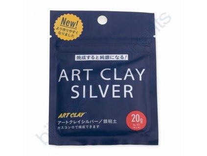 Art clay silver 650 Nové složení - 20g
