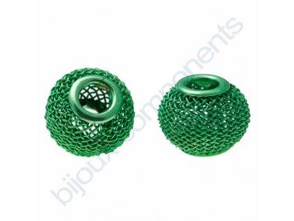 Síťovaná rondelka - zelená