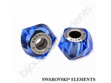 SWAROVSKI ELEMENTS BeCharmed Helix - sapphire steel, 14mm