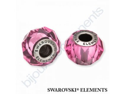 SWAROVSKI ELEMENTS BeCharmed Briolette - rose steel, 14mm
