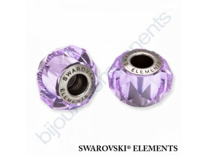 SWAROVSKI ELEMENTS BeCharmed Briolette - violet steel, 14mm