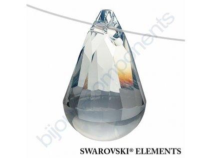 SWAROVSKI ELEMENTS přívěsek - Cabochette, crystal blue shade, 13mm