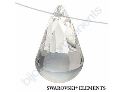 SWAROVSKI ELEMENTS přívěsek - Cabochette, crystal, 13mm