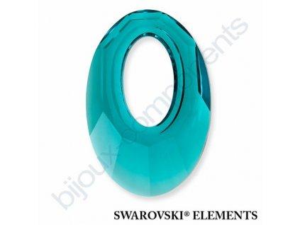 SWAROVSKI ELEMENTS přívěsek - Helios, indicolite, 30mm