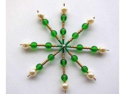 Set hvězda - zelená