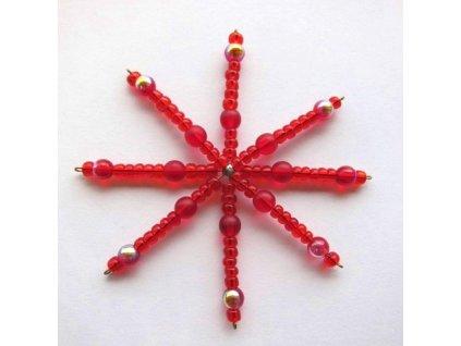 Set hvězda - červená