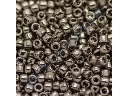 TOHO rokajl, Nickel, vel.3,1 mm, průtah 1,3 mm