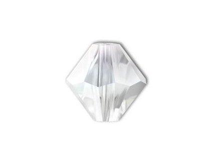 Korálky Swarovski - sluníčko, 7mm, crystal